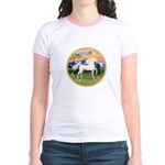Mt Country/Horse (Ar-W) Jr. Ringer T-Shirt