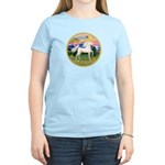 Mt Country/Horse (Ar-W) Women's Light T-Shirt