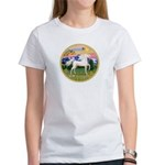 Mt Country/Horse (Ar-W) Women's T-Shirt