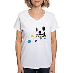 1 Eating Women's V-Neck T-Shirt