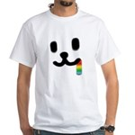 1 Juicy Rainbow White T-Shirt