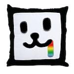 1 Juicy Rainbow Throw Pillow