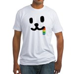 1 Juicy Rainbow Fitted T-Shirt