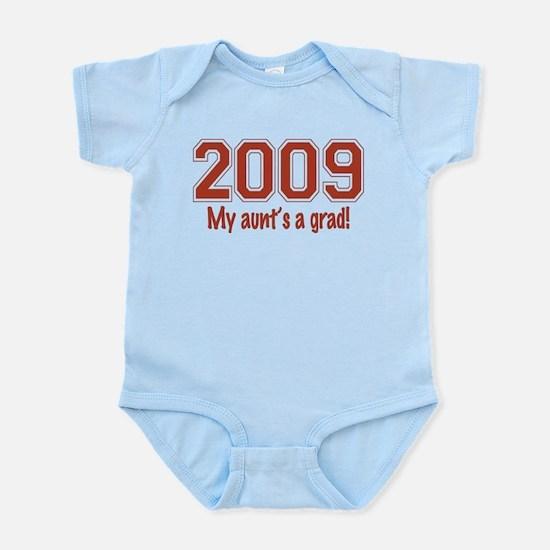 2009 My Aunt's A Grad Infant Bodysuit