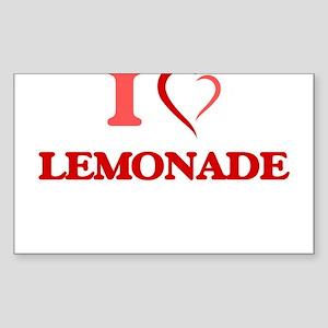 I Love Lemonade Sticker