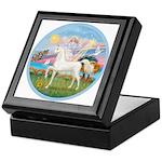 Angel/Horse (Ar-W) Keepsake Box