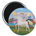 Angel/Horse (Ar-W) Magnet