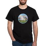 Angel/Horse (Ar-W) Dark T-Shirt