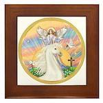 Blessings/Horse (Ar-W) Framed Tile