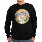 Blessings/Horse (Ar-W) Sweatshirt (dark)