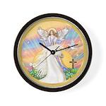 Blessings/Horse (Ar-W) Wall Clock
