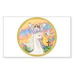 Blessings/Horse (Ar-W) Rectangle Sticker 10 pk)