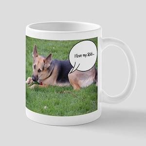 German Shepherd Humor Mug
