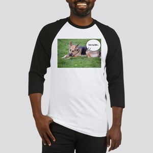 German Shepherd Humor Baseball Jersey