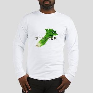 celery stalker, dieter/vegetarian/vegan Long Sleev