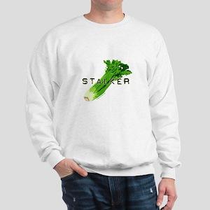 celery stalker, dieter/vegetarian/vegan Sweatshirt