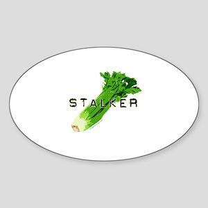 celery stalker, dieter/vegetarian/vegan Sticker (O