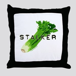 celery stalker, dieter/vegetarian/vegan Throw Pill