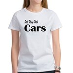 Plays With Cars Women's T-Shirt