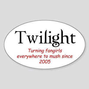 Twilight Mush Oval Sticker
