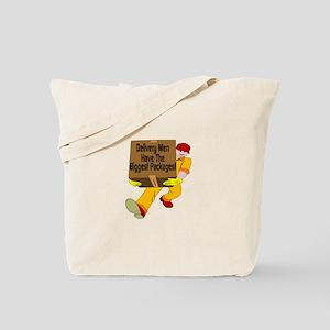 Biggest Packages Tote Bag