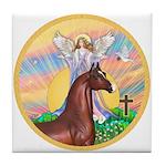 Blessings/Horse (Ar-Brn) Tile Coaster
