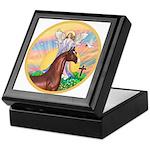 Blessings/Horse (Ar-Brn) Keepsake Box