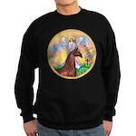 Blessings/Horse (Ar-Brn) Sweatshirt (dark)