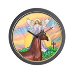 Blessings/Horse (Ar-Brn) Wall Clock