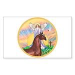 Blessings/Horse (Ar-Brn) Rectangle Sticker 10 pk)