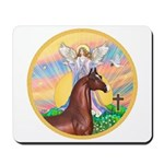 Blessings/Horse (Ar-Brn) Mousepad