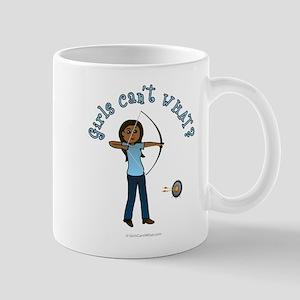 Dark Blue Archery Mug