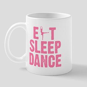 EAT SLEEP DANCE Mug
