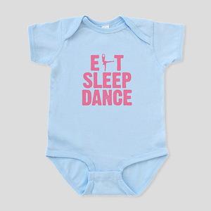 EAT SLEEP DANCE Infant Bodysuit