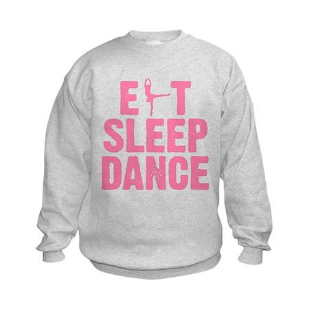 EAT SLEEP DANCE Kids Sweatshirt