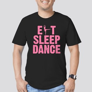 EAT SLEEP DANCE Men's Fitted T-Shirt (dark)