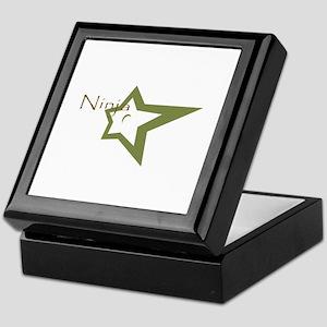 Ninja Star Keepsake Box