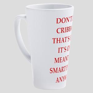 cribbage 17 oz Latte Mug