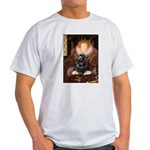 Queen / Cocker Spaniel (blk) Light T-Shirt