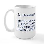 Dummkopf3 white Mugs