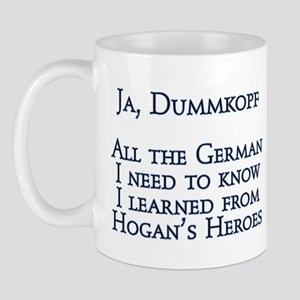 Dummkopf3 white Mugs