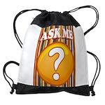 ASK ME Drawstring Bag