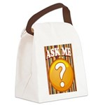 ASK ME Canvas Lunch Bag