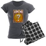 ASK ME Women's Charcoal Pajamas