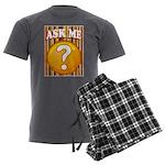 ASK ME Men's Charcoal Pajamas