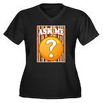 ASK ME Plus Size T-Shirt