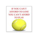 tennis, Sticker