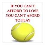 tennis, Square Car Magnet 3
