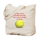 tennis, Tote Bag