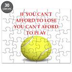 tennis, Puzzle